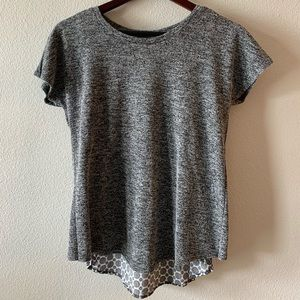 Max Jeans Patterned Short Sleeve Top